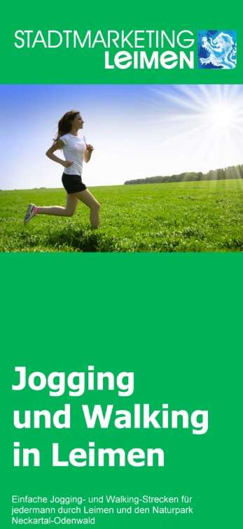 Jogging- und Walking in Leimen